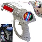 Flashing Toys Laser Gun-Battery Operated Magic Plastic Toy Gun