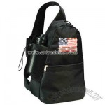 Flashing USA Flag Backpack