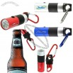 Flashlight Bottle Opener with Carabiner