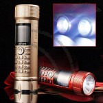 Flashlight Mobile Phone and Power Bank Combo with Stereo Speaker