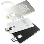 Flat Metal Card USB Flash Drive