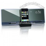 Flat Panel Nxt Speaker with Alarm, Am, FM, Aux and SRS