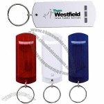 Flat Whistle Keychain