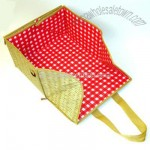 Flat-folding Picnic Basket