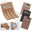 Flexible Silicone Solar Gift Chocolate Calculator