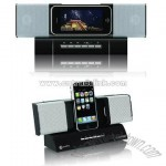 Flexible Stereo Speaker for iPod with Remote Control