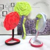 Flexible Twist Rose Design Mirror