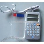 Flip Cover Euro Converters Calculator with lanyard