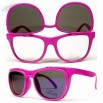 Flip up Vintage Wayfarer Retro Mirrored Sunglasses