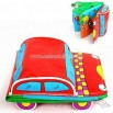 Floatable Intelligence Car Bath Reading Book with Offset Printing