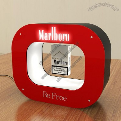 Floating Cigarette/Tobacco Display and Advertising