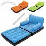 Flocking Inflatable Sofa Bed