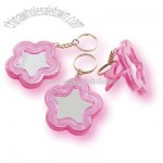 Flower Mirror Keychains