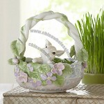 Flower Patch Bunny Basket