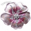 Flower-Shaped Alloy Belt Buckle