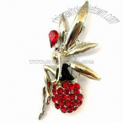 Flower Shaped Classical Brooch