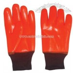 Fluorescent PVC Dipped Glove