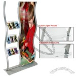 Flyer Displays Include Large Poster Area & Acrylic Pockets