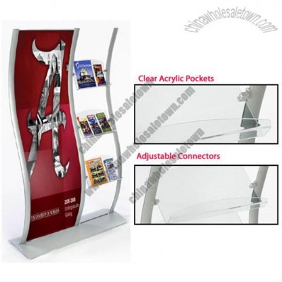 Flyer Holders with Brochure Displays & Poster Frames