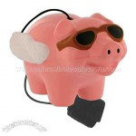 Flying pig stress reliever yo-yo with elastic cord