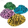 Foam Neon Animal Print Cowboy Hats