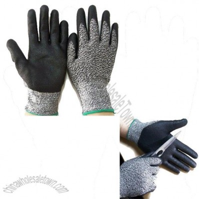 Foam Nitrile Dipped Cut Resistant Safety Gloves