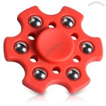 Focus Toy Snowflake Shape Ball Bearing Hand Fidget Spinner