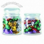 Foil Wrapped Assorted Fruit Candies Jars