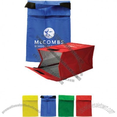 Fold Over Nylon Lunch Bag