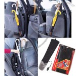 Foldable Car Back Seat Umbrella Holder Organizer