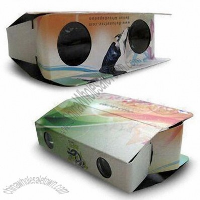 Foldable Cardboard Binoculars with Lightweigh