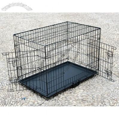 Foldable Dog Cage Kennel - XXL 42