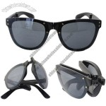 Foldable Fashion Glasses Italy Classic Design Men Polarized Sunglasses