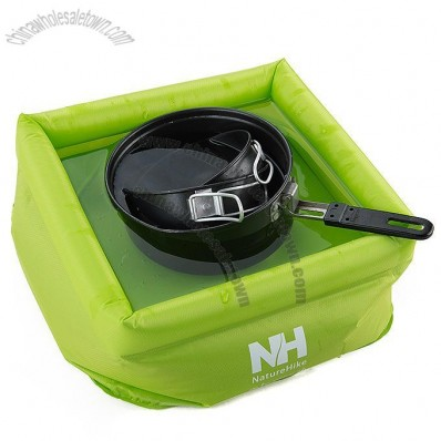 Foldable Inflatable Washbasin for Camping