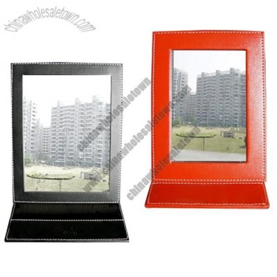 Foldable Leather Mirror