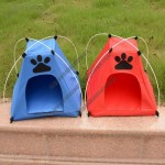 Foldable Oxford Cloth Pet Tents