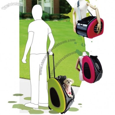 Foldable Pet Trolley Bag