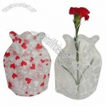 Foldable Plastic Disposable Vase