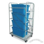 Foldable Roll Pallets Container with Wheel