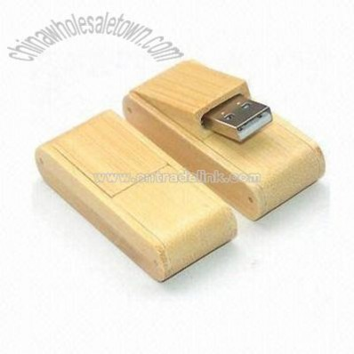 Foldable Wooden USB Memory Stick