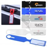 Folded Luggage Tag