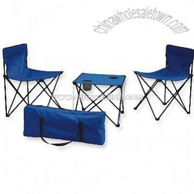 Folding Camping Set with Bag