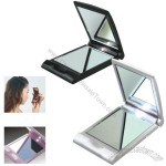 Folding LED lighted Compact Mirror