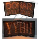 Folding Portable LED Sign for Outdoor