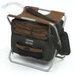 Folding Stool with Cooler Bag