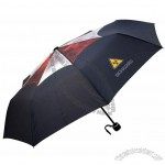 Folding Travel Sunny Umbrella with Cartoon Resident Evil Painting