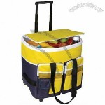 Folding Trolley Cooler Bag - Rolling Cooler Bag