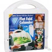 Folding Waterlogging / Flat Fold Colander - As Seen On TV