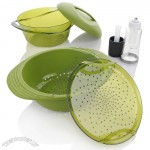Food Steamer with Oil Mister