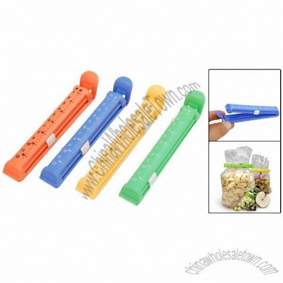 Food Storage Seal Bag Clips Clamps Date Recordable